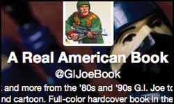 Tim Finn GI Joe Book twitter